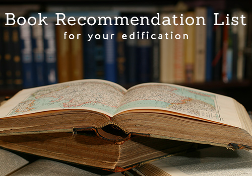 Theological Book Recommendations