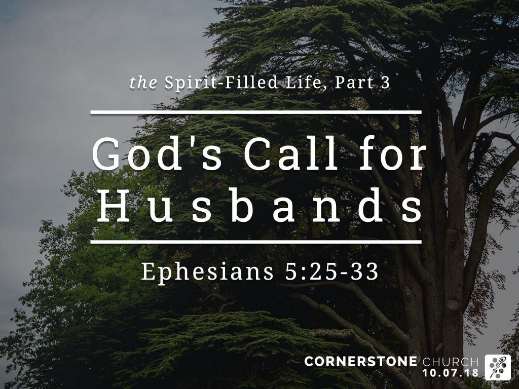 [sermon] Ephesians 5:25-33 The Spirit-Filled Life, Part 3